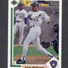 1991 Upper Deck Baseball #739 Candy Maldonado - Milwaukee Brewers