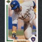 1991 Upper Deck Baseball #266 Gary Sheffield - Milwaukee Brewers