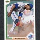 1991 Upper Deck Baseball #126 Tony Fernandez - Toronto Blue Jays