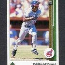 1989 Upper Deck Baseball #796 Oddibe McDowell - Cleveland Indians