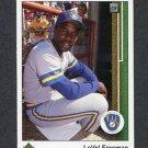1989 Upper Deck Baseball #788 LaVel Freeman - Milwaukee Brewers