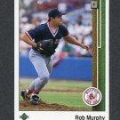 1989 Upper Deck Baseball #759 Rob Murphy - Boston Red Sox