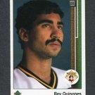 1989 Upper Deck Baseball #750 Rey Quinones - Pittsburgh Pirates