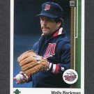 1989 Upper Deck Baseball #732 Wally Backman - Minnesota Twins