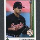 1989 Upper Deck Baseball #725 Craig Worthington - Baltimore Orioles