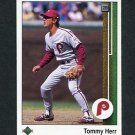 1989 Upper Deck Baseball #720 Tommy Herr - Philadelphia Phillies ExMt