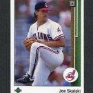 1989 Upper Deck Baseball #716 Joe Skalski - Cleveland Indians