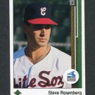 1989 Upper Deck Baseball #715 Steve Rosenberg - Chicago White Sox
