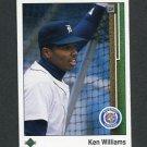 1989 Upper Deck Baseball #714 Ken Williams - Detroit Tigers