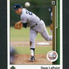 1989 Upper Deck Baseball #706 Dave LaPoint - New York Yankees