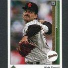 1989 Upper Deck Baseball #703 Walt Terrell - San Diego Padres
