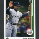 1989 Upper Deck Baseball #702 Jesse Barfield - New York Yankees