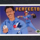 1991 Upper Deck Final Edition Baseball #050F Dennis Martinez Perfect - Montreal Expos