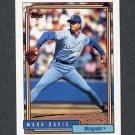 1992 Topps Baseball #766 Mark Davis - Kansas City Royals