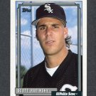 1992 Topps Baseball #701 Scott Radinsky - Chicago White Sox