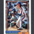 1992 Topps Baseball #322 Tim Burke - New York Mets
