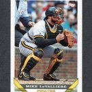 1993 Topps Baseball #054 Mike LaValliere - Pittsburgh Pirates