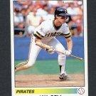 1990 Panini Stickers Baseball #321 Jay Bell - Pittsburgh Pirates