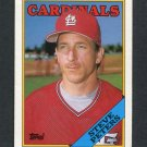 1988 Topps Traded Baseball #084T Steve Peters - St. Louis Cardinals Ex
