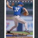 1993 Upper Deck Baseball #539 Greg Hibbard - Chicago Cubs