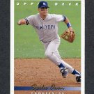 1993 Upper Deck Baseball #548 Spike Owen - New York Yankees