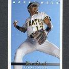 1993 Upper Deck Baseball #309 Jose Lind - Pittsburgh Pirates