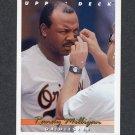 1993 Upper Deck Baseball #228 Randy Milligan - Baltimore Orioles