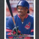 1993 Upper Deck Baseball #227 Mark Whiten - Cleveland Indians