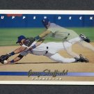 1993 Upper Deck Baseball #222 Gary Sheffield - San Diego Padres