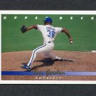 1993 Upper Deck Baseball #221 Tom Gordon - Kansas City Royals
