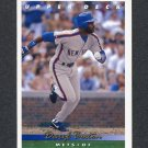 1993 Upper Deck Baseball #203 Daryl Boston - New York Mets