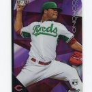 2015 Finest Purple Refractors Baseball #078 Daniel Corcino - Cincinnati Reds