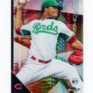 2015 Finest Prism Refractors Baseball #078 Daniel Corcino - Cincinnati Reds
