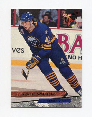 1993-94 Ultra Hockey #200 Richard Smehlik - Buffalo Sabres