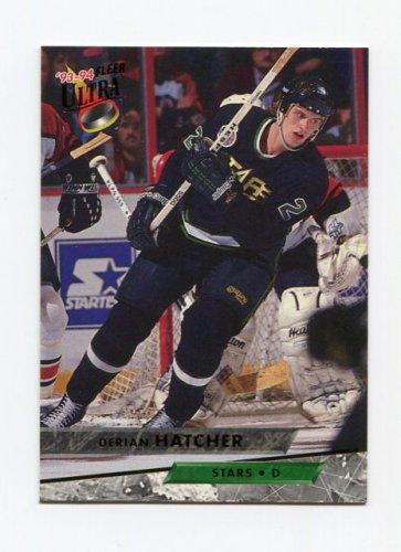 1993-94 Ultra Hockey #139 Derian Hatcher - Dallas Stars