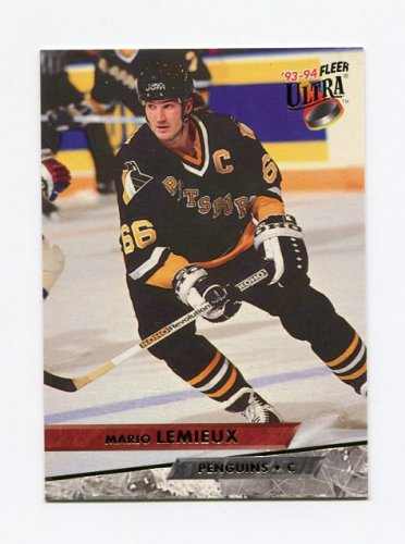 1993-94 Ultra Hockey #116 Mario Lemieux - Pittsburgh Penguins