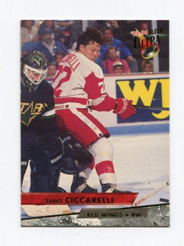 1993-94 Ultra Hockey #032 Dino Ciccarelli - Detroit Red Wings
