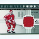 2011-12 SP Game Used Hockey Authentic Fabrics #AFPG Chris Pronger - Team Canada Game Used /100