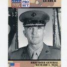 1991 Desert Storm Pro Set #087 Brigadier General Richard I. Neal