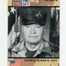 1991 Desert Storm Pro Set #082 General Alfred M. Gray