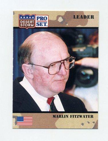 1991 Desert Storm Pro Set #081 Marlin Fitzwater
