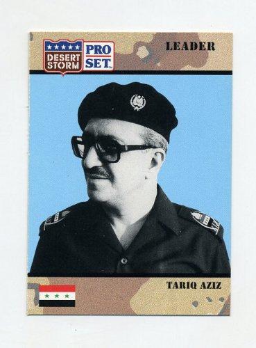 1991 Desert Storm Pro Set #068 Tariq Aziz