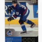 2000-01 Upper Deck ICE Hockey #078 Henrik Sedin - Vancouver Canucks