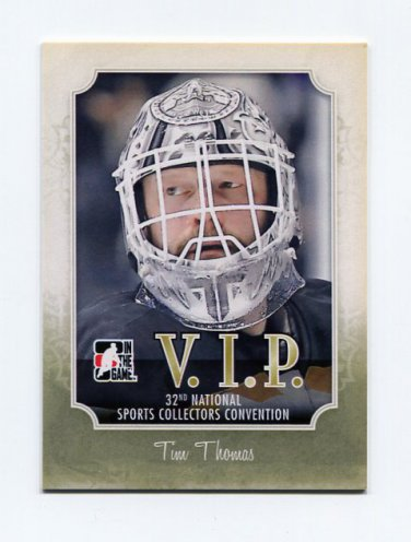 2011 In the Game National Convention VIP Hockey #05 Tim Thomas