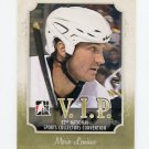 2011 In the Game National Convention VIP Hockey #01 Mario Lemieux