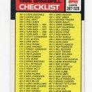 1986 Topps Baseball #527 Checklist : 397-528