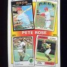 1986 Topps Baseball #004 Pete Rose Special: '71-'74 - Cincinnati Reds