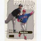 2000 Skybox Baseball #243 Doug Davis / Aaron Myette - Texas Rangers / Chicago White Sox
