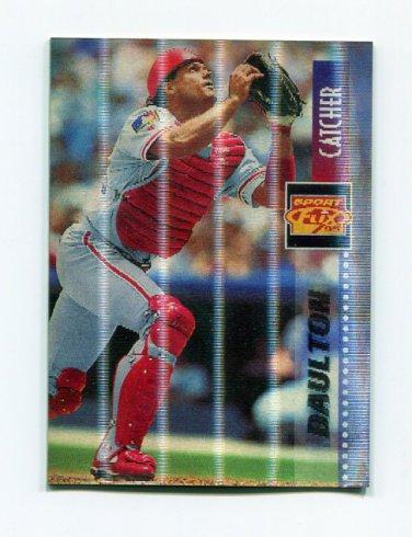 1995 Sportflix Baseball #027 Darren Daulton - Philadelphia Phillies