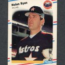 1988 Fleer Baseball #455 Nolan Ryan - Houston Astros